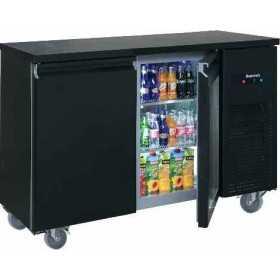 Arrière bar réfrigéré compact 2 portes pleines positive 340 L