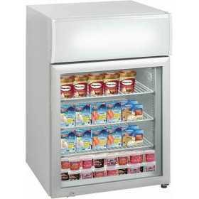 Mini vitrine de comptoir réfrigérée négative 113 L